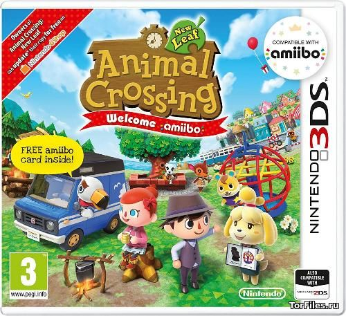 [3DS]  Animal Crossing: New Leaf - Welcome amiibo [CIA][E][ENG]