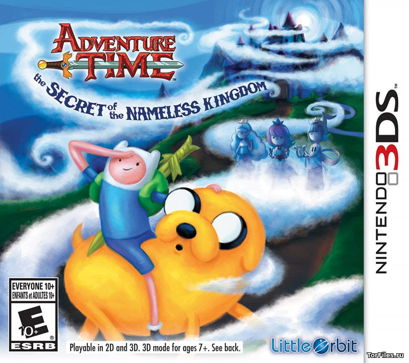 [3DS] Adventure Time: The Secret of the Nameless Kingdom (CIA)[U][ENG]